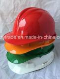 ABS / PE Ce Sombrero de protección para la construcción Seguridad Casco de trabajo