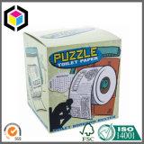 Levantar la tapa del rectángulo de regalo cosmético del papel rígido de la cartulina