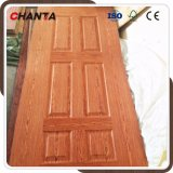 Placage de bois moulé de la peau extérieure de porte avec un nouveau design
