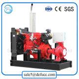 Motor diesel de aspiración de una sola bomba de agua para la planta