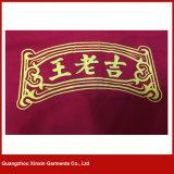 T-shirt personnalisé de haute qualité avec impression de votre logo fabriqué en Chine (P156)