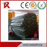 Poste en plastique de dessinateur de ressort de poste de rambarde de route de poteau d'amarrage réutilisé parDessus