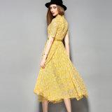 Оптовое платье шнурка полиэфира для одежды женщин