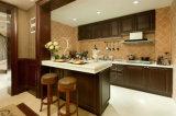 Venda por grosso de madeira armário de cozinha moderna Yb1706146