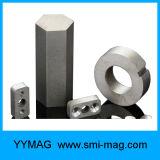 Anello personalizzato dei magneti di SmCo del cobalto del samario di buona qualità