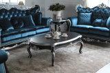 Festes Holz-Spitzenwohnzimmer-Sofa für klassische Art-Dekoration