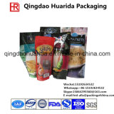 Doypack Aluminiumfolie-Plastikverpacken- der Lebensmittelbeutel mit Reißverschluss
