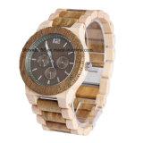 Reloj Cronógrafo de madera multifuncional para regalo Relojes de madera