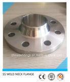 L'acier inoxydable 316L de la norme ANSI B16.5 S40s a modifié la bride de pipe