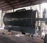 A poluição 100% da planta do pneumático de uma pirólise de 8 toneladas livra