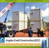 Hogares modulares vivos prefabricados del envase de la estructura de acero del envío de la casa prefabricada