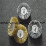 ステンレス鋼結ばれたワイヤー車輪のユニバーサルアーバーは錆のはねを除去する