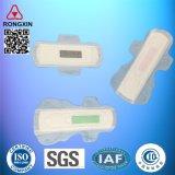 Garnitures sanitaires avec l'ion négatif