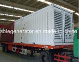 тип супер молчком тепловозный генератор Чумминс Енгине контейнера 1200kw/1500kVA (YM-C1200)