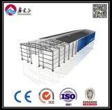 Oficina industrial modular da construção de aço do fabricante profissional (BYSS051602)