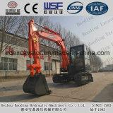 Máquinas escavadoras 5.5ton da esteira rolante de China mini para dragar