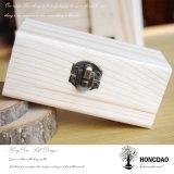 Rectángulo de madera de Honddao, venta caliente Box_D de empaquetado de madera barato natural