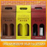 Caja de papel del vino (BLF-PBO087)