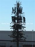 Torre de antena celular camuflar da palmeira de uma comunicação