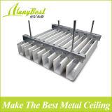 25 * 100mm Couleur en bois Aluminium Box Baffle Plafond