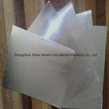 Лист лантана молибдена изготовления высокотемпературный