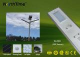 6W-120W tout dans les lumières extérieures actionnées solaires d'une DEL avec le détecteur de PIR