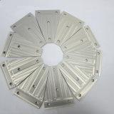Lamiera sottile di alluminio che piega i pezzi meccanici dell'imballaggio di alimento di taglio del laser