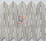 Mozaïek van de Muur van de Plons van de keuken het Marmeren (CFS1179)