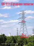Torretta della trasmissione di tensionamento di profilato leggero di CC di Megatro 500kv 5e5 Sj1