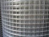 Frontière de sécurité soudée par métal noir de treillis métallique d'Anjia Chine