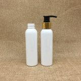 bouteille en plastique 5oz de lotion de couleur de l'animal familier 150ml avec la pompe d'or
