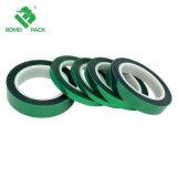 Placa de circuito de alta temperatura mascota verde cinta adhesiva cinta resistente al calor