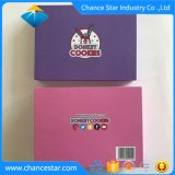 習慣はクッキーのためのペーパーボール紙の食糧ボックス、ケーキ、チョコレートを印刷した