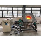 Печь промышленной индукции частоты средства плавя для стали