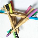 Il Toothbrush di bambù con con un angolo di 15 gradi & BPA morbidi liberano le setole di nylon
