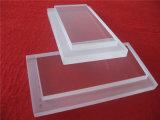 Настраиваемые очистить пластины из кварцевого стекла с шаги