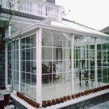 Material da estrutura em liga de alumínio e telhado de vidro temperado jardim de Inverno Quarto da Sun