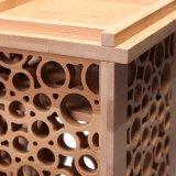 Коробка вина Eco содружественная декоративная высеканная науглероживанная прямоугольником Bamboo