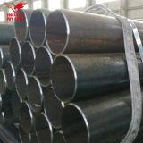 Tubulação soldada ERW de aço do preto da tubulação de aço de tubulação de carbono da programação 10