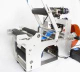 반 자동 접착성 라벨 테이블 레테르를 붙이는 기계