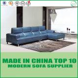 Sofás secionais da mobília de couro moderna americana da sala de visitas