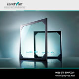 Landvac 새로운 디자인 낮은 U 가치는 태양 에너지 집을%s 진공에 의하여 격리된 유리를 부드럽게 했다