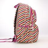 Nylon impermeable de la mujer adolescente, estudiante de mochila Mochila escolar