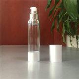 装飾的なゆとり15ml 30ml 50mlのプラスチック空気のないびん