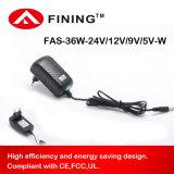 12V3a36W UL/Ce/FCC를 가진 잘 고정된 전력 공급 접합기