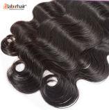 Выдвижения человеческих волос девственницы объемной волны ранга 9A 100% индийские