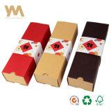 주문 미끄러지는 Kraft 종이 서랍 음식 수송용 포장 상자 선물 상자