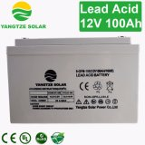 la soupape rechargeable de 12V 100ah a réglé la batterie d'acide de plomb