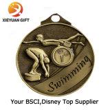 Custom Monkey Sports Epoxy Logo Engraving Medals