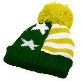 Толстые зимние шапки с POM POM Beanie трикотажные Red Hat